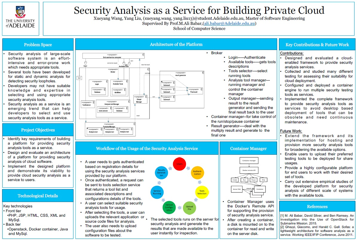 Software-Security-Analysis-for-Building-Private-Cloud